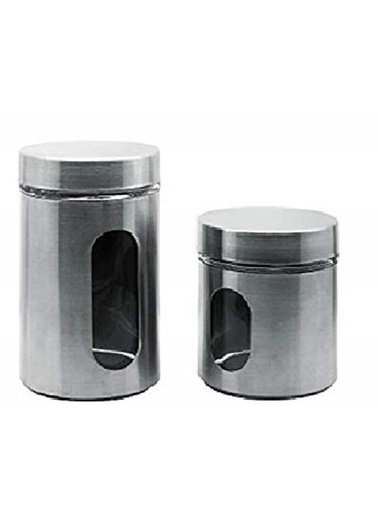 Fackelmann Fackelmann 42133 Metal Kavanoz 10 X 12.5 Cm Renkli